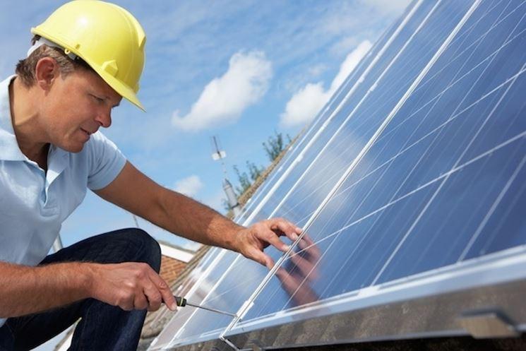 Sostituzione pannelli fotovoltaici