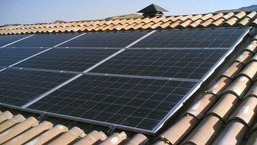 Un impianto fotovoltaico sul tetto