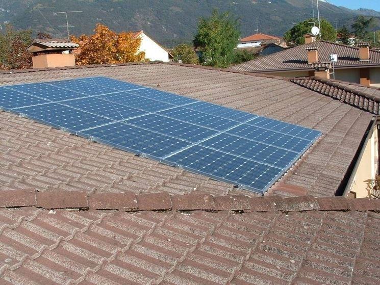 Un tetto fotovoltaico integrato