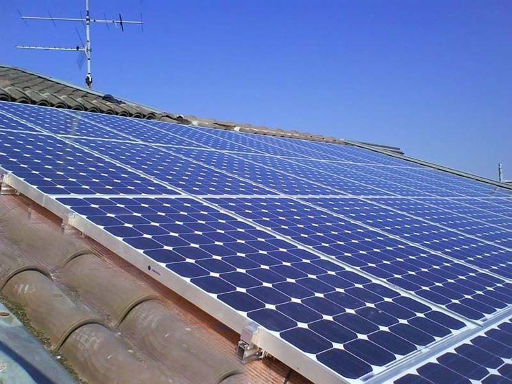impianto di pannelli solari