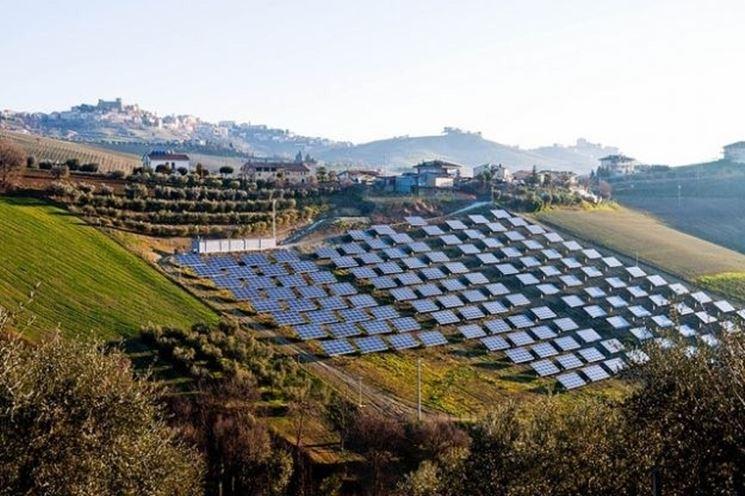 pannelli solari azienda agricola