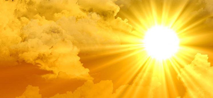 Il sole.