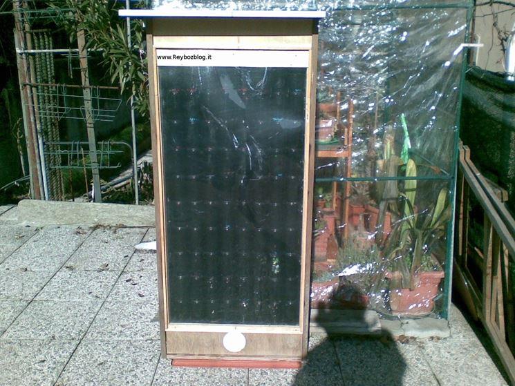 assemblaggio pannello solare