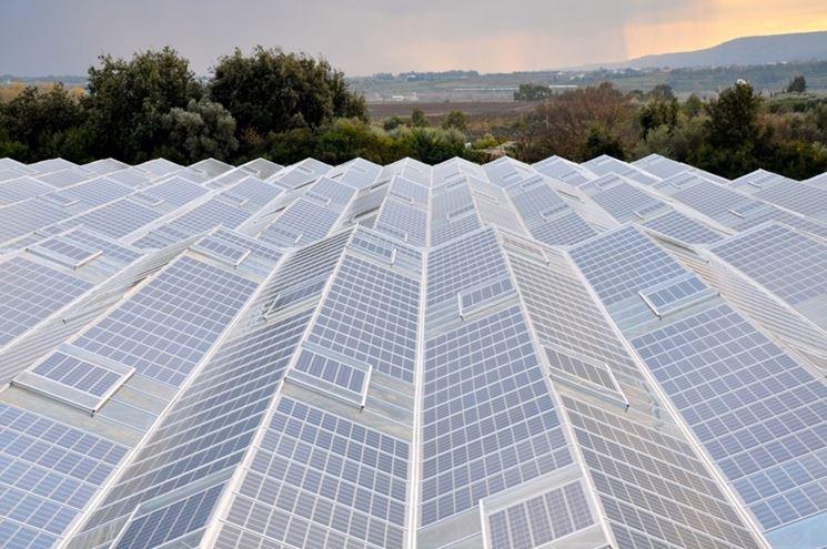 serre pannelli solari