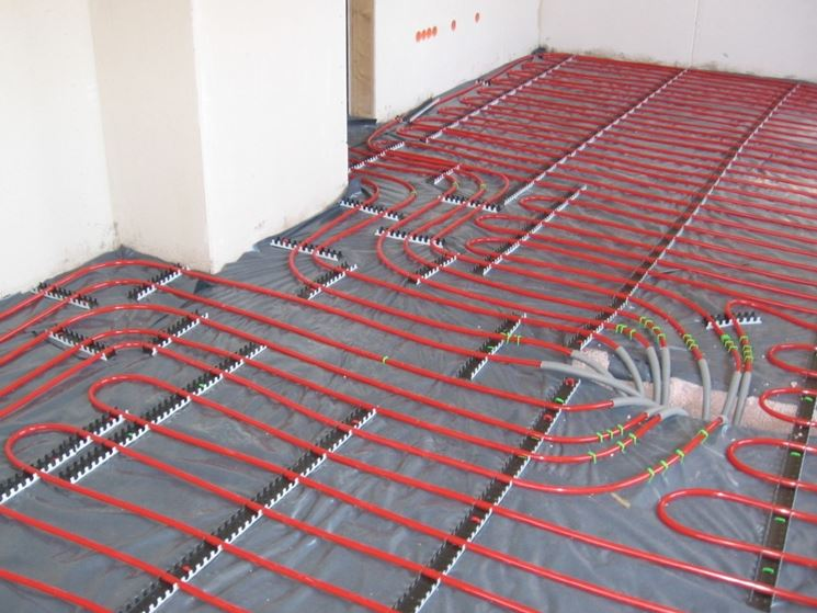 Riscaldamento a pavimento tramite pannelli solari
