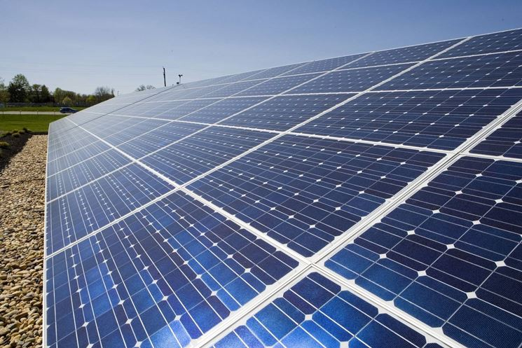 Le celle fotovoltaiche sono solitamente costruite in silicio