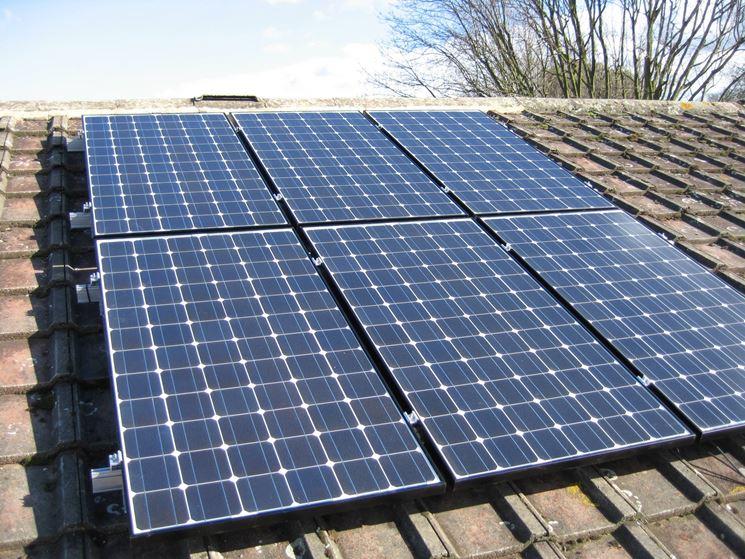 La quantit� di energia generata dipende dall'efficienza della cella fotovoltaica