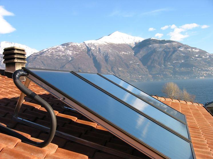 pannello fotovoltaico su tetto