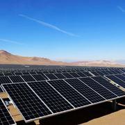 Esempio di impianto fotovoltaico di grosse dimensioni.
