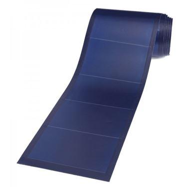 Esempio di pannello fotovoltaico arrotolabile.