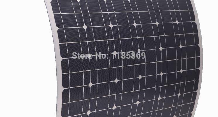 prezzi e modelli di pannelli fotovoltaici per camper: pannelli in silicio amorfo