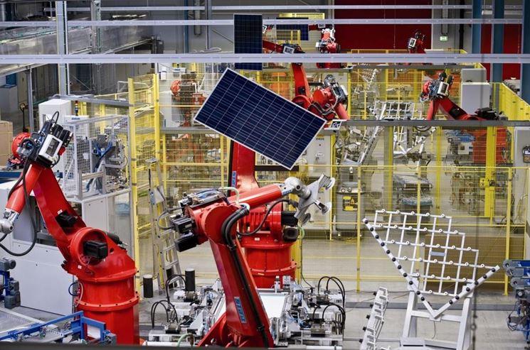 azienda che produce pannelli fotovoltaici