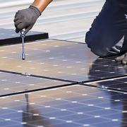 Montaggio di un impianto fotovoltaico