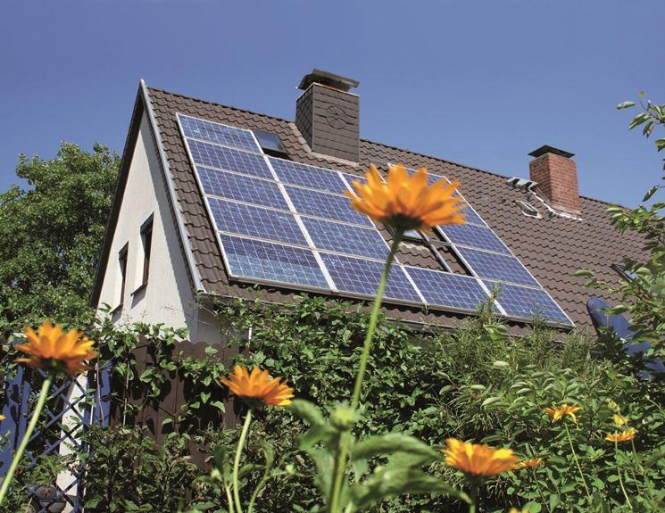 Un impianto fotovoltaico migliora l'efficienza energetica di un edificio