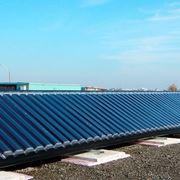 riscaldamento solare per tetto