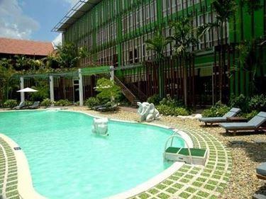 Green Hotel Hue, Vietnam.