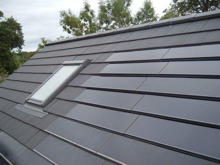 Anche le tegole fotovoltaiche godono degli incentivi statali