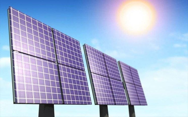 pannelli solari attivi