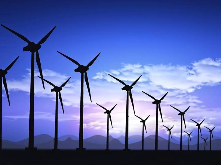 turbine eoliche in funzione