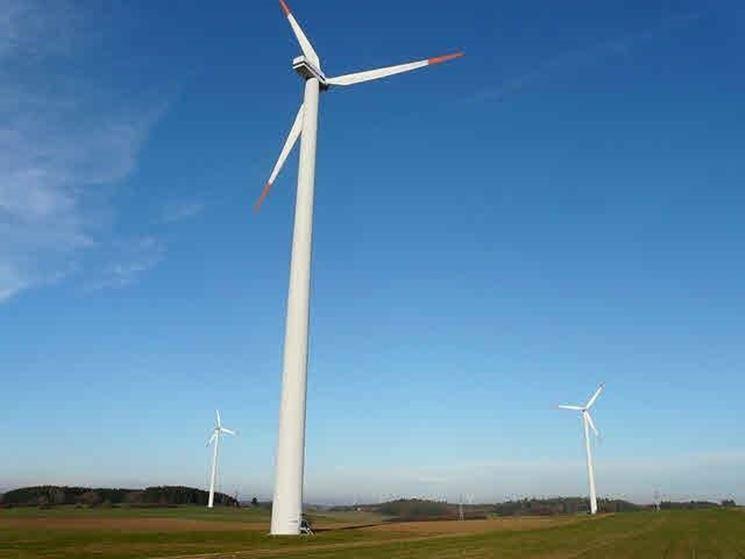 Uso delle pale eoliche