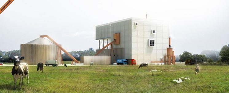 centrale biomassa in Francia