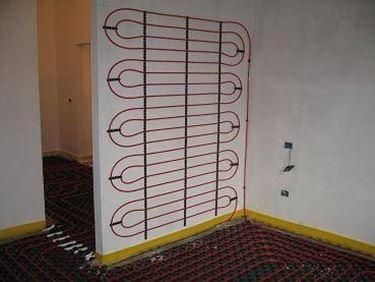 Pannelli radianti risparmiare energia pannelli radianti - Riscaldamento pannelli radianti a parete ...