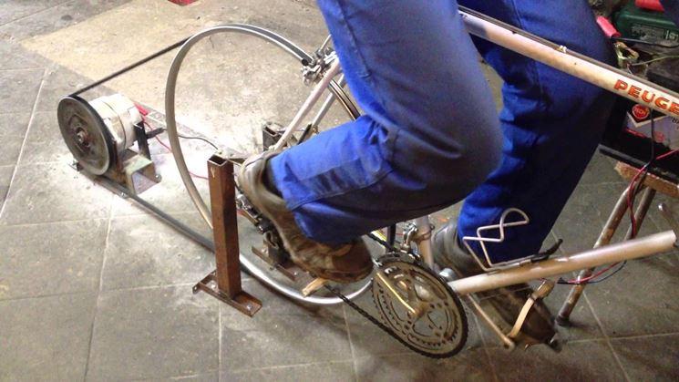 pedalata per creare energia