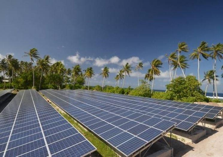 fotovoltaici a sud del Pacifico