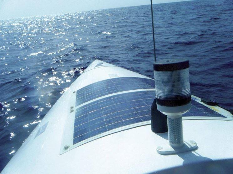 Pannelli solari per barche