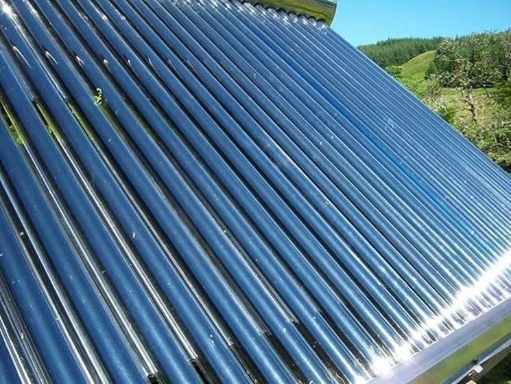 In Italia i pannelli solari sottovuoto non hanno molto spazio