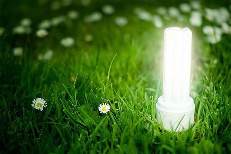 lampada risparmio energetico