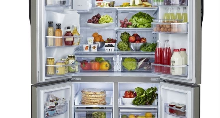 Frigoriferi americani a tre e quattro porte frigorifero for Frigorifero a cassetti