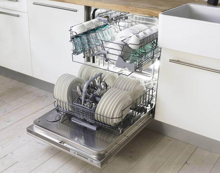 lavastoviglie carica