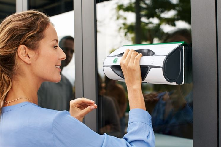 Lavavetri per le finestre robot per la casa lavavetri per finestre - Pulizia vetri finestre ...