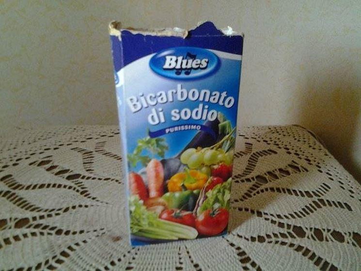 Confezione di bicarbonato di sodio