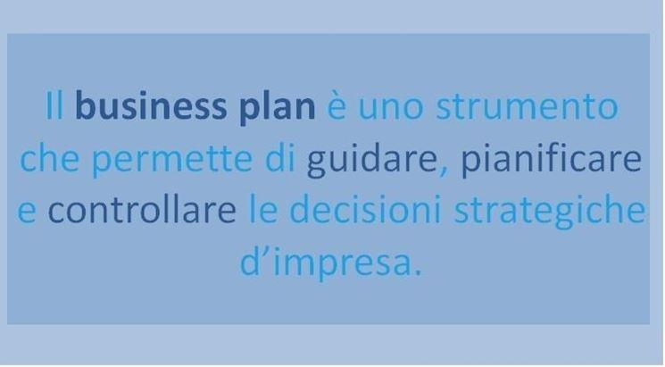 Cos'� il business plan