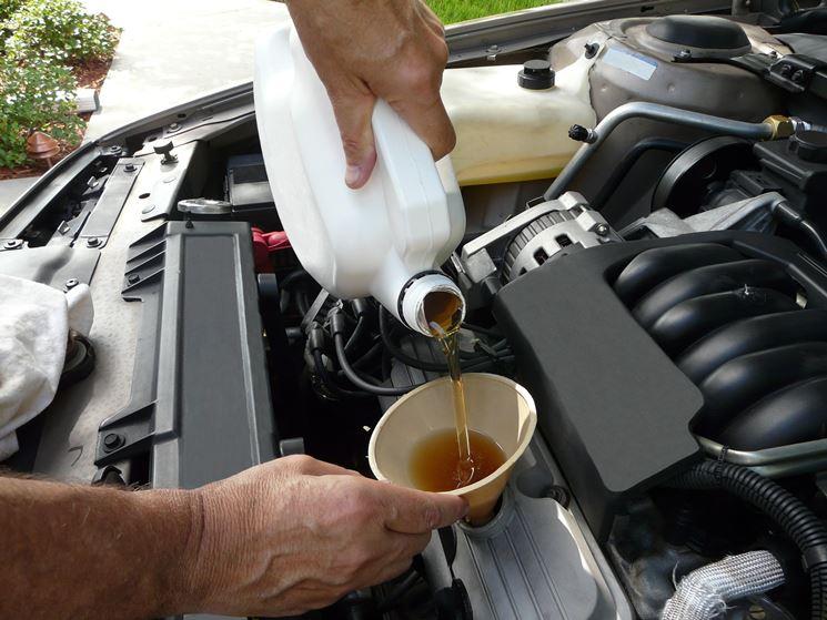 Cambio olio fai da te.