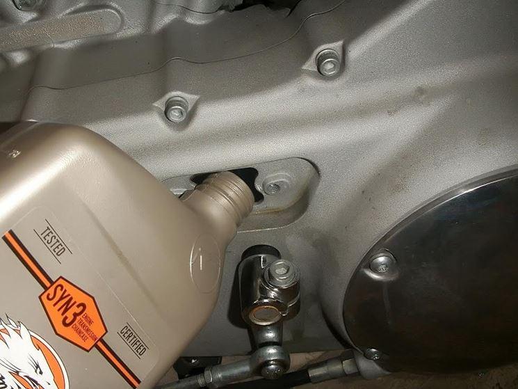 olio del motore