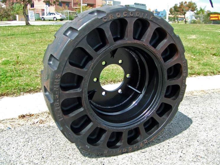 Un tipico pneumatico tubeless