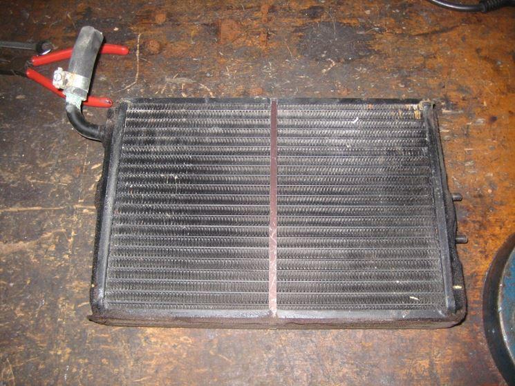 Esempio radiatore a gas