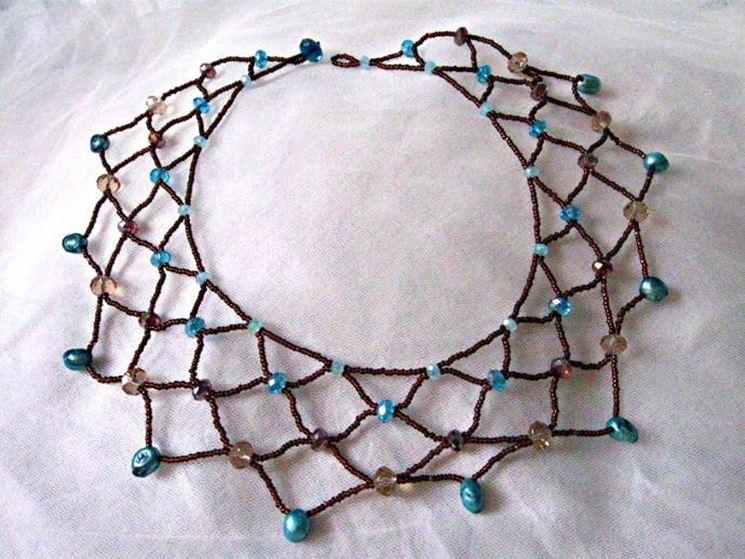 collana con perline
