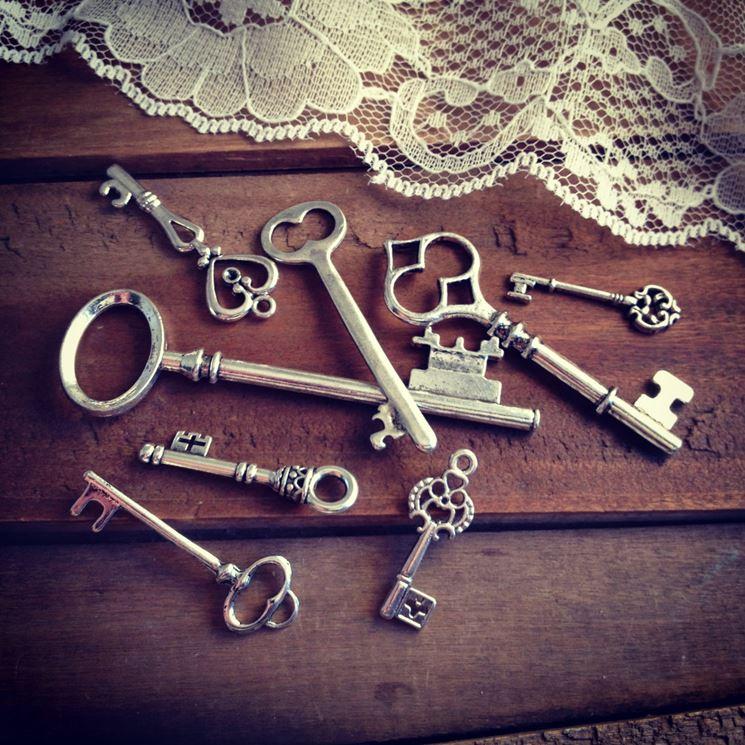 Ciondoli a forma di chiave