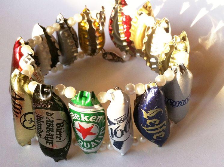 braccialetto tappi birra