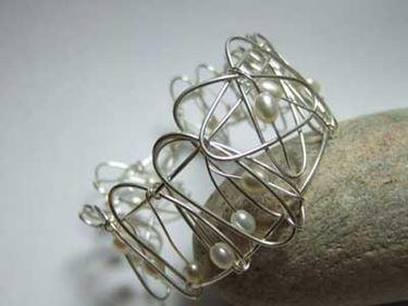 anello fai da te in fil di ferro