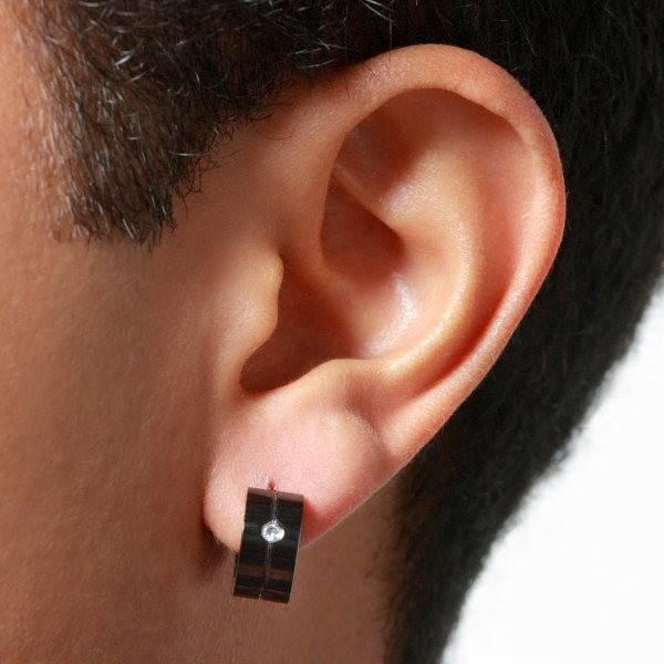 Popolare Modelli di orecchini per uomo - Gioie e Gioielli - Orecchini per  ZW61