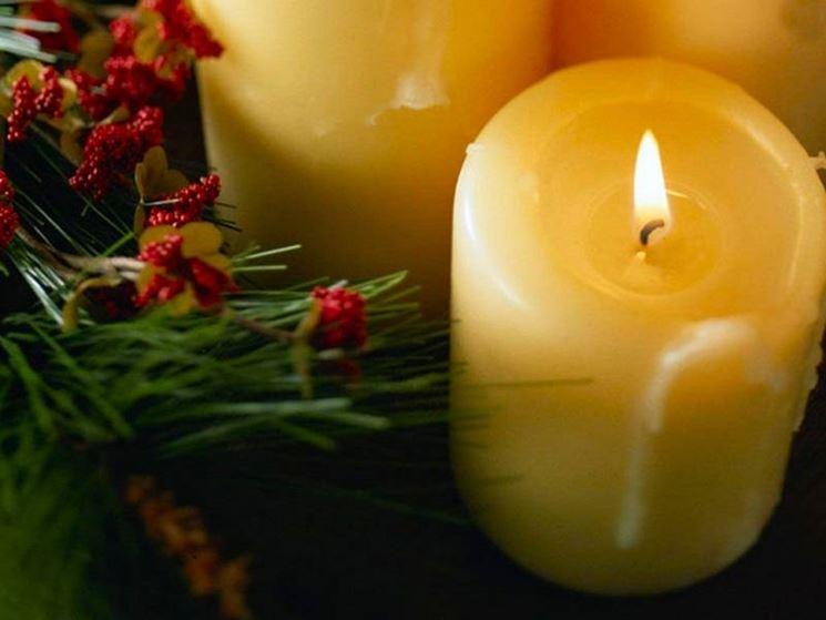 candela realizzata a mano