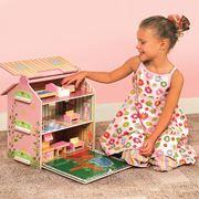 Casa delle bambole in legno: la struttura