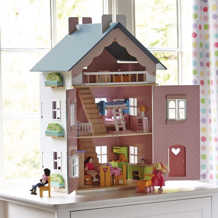 Come fare la casa delle bambole il bricolage come costruire da soli una casa per le bambole - Casa di cartone ...