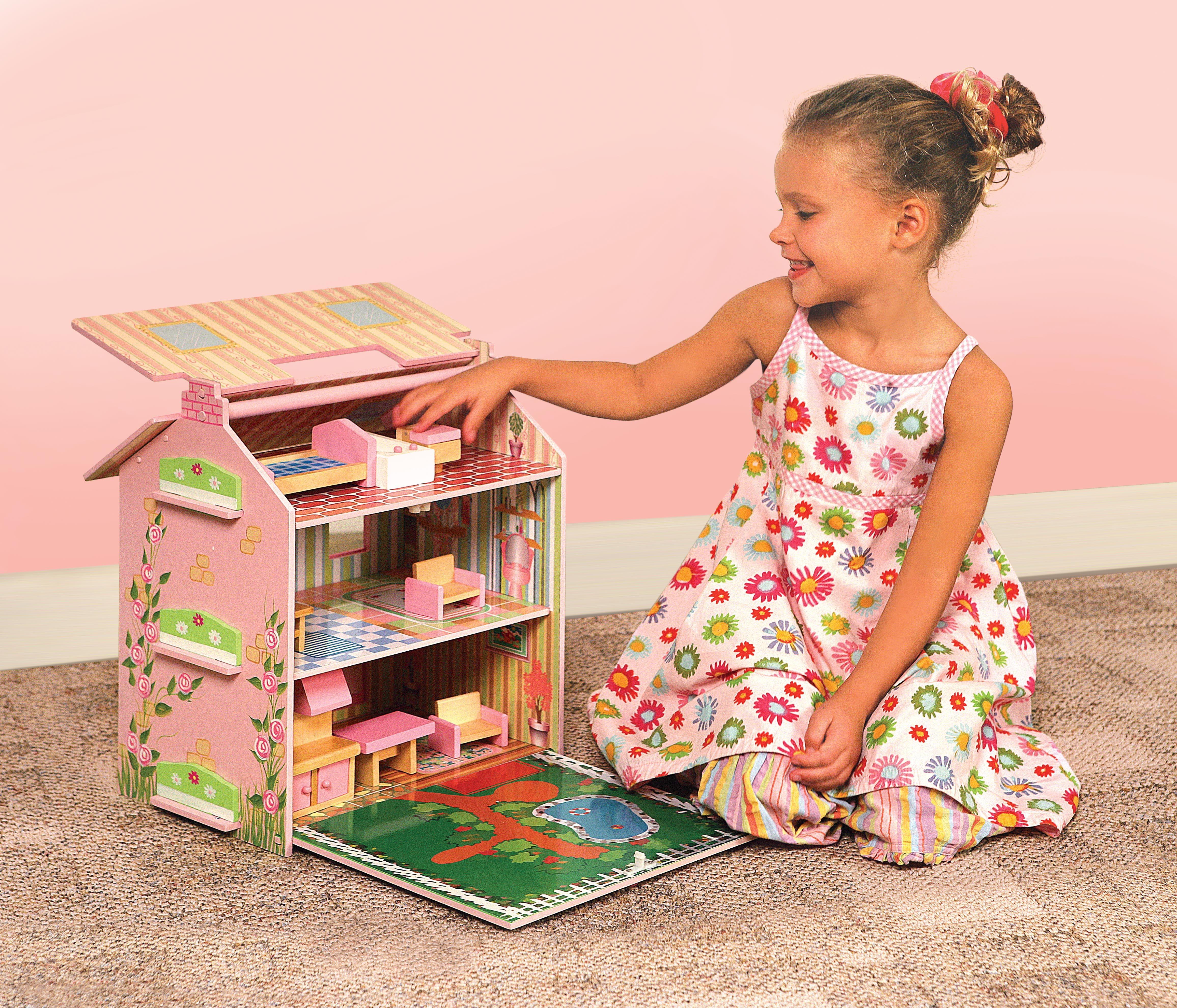 Come costruire casa delle bambole fai da te   Mamme Magazine