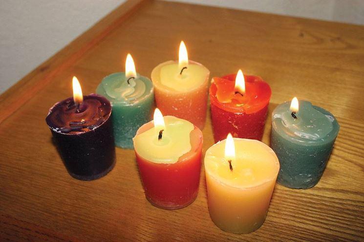 candele colorate fai da te